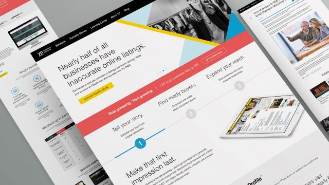 Yellow Pages redesign
