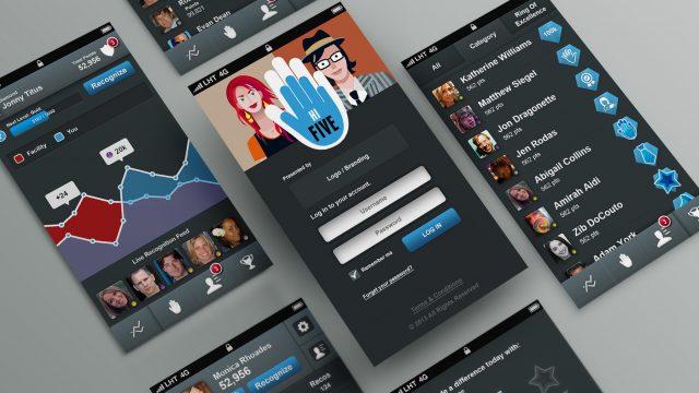 hi Five design and application